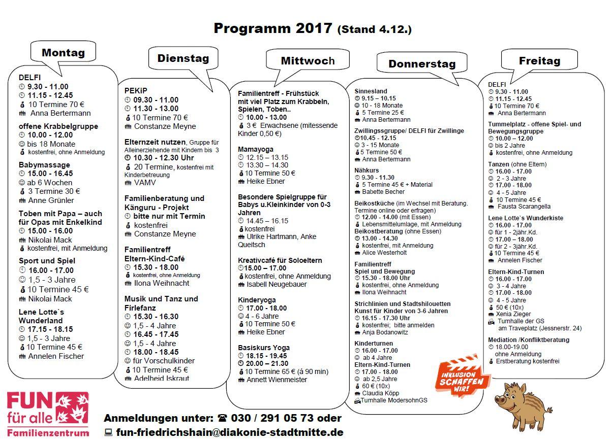 FUN PROGRAMM 20171204